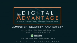 Computer Security And Safety @ Oak Hill Collaborative | Youngstown | Ohio | United States